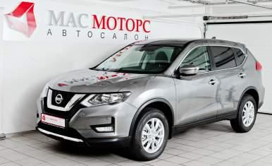 Nissan X-Trail New Серый металлик